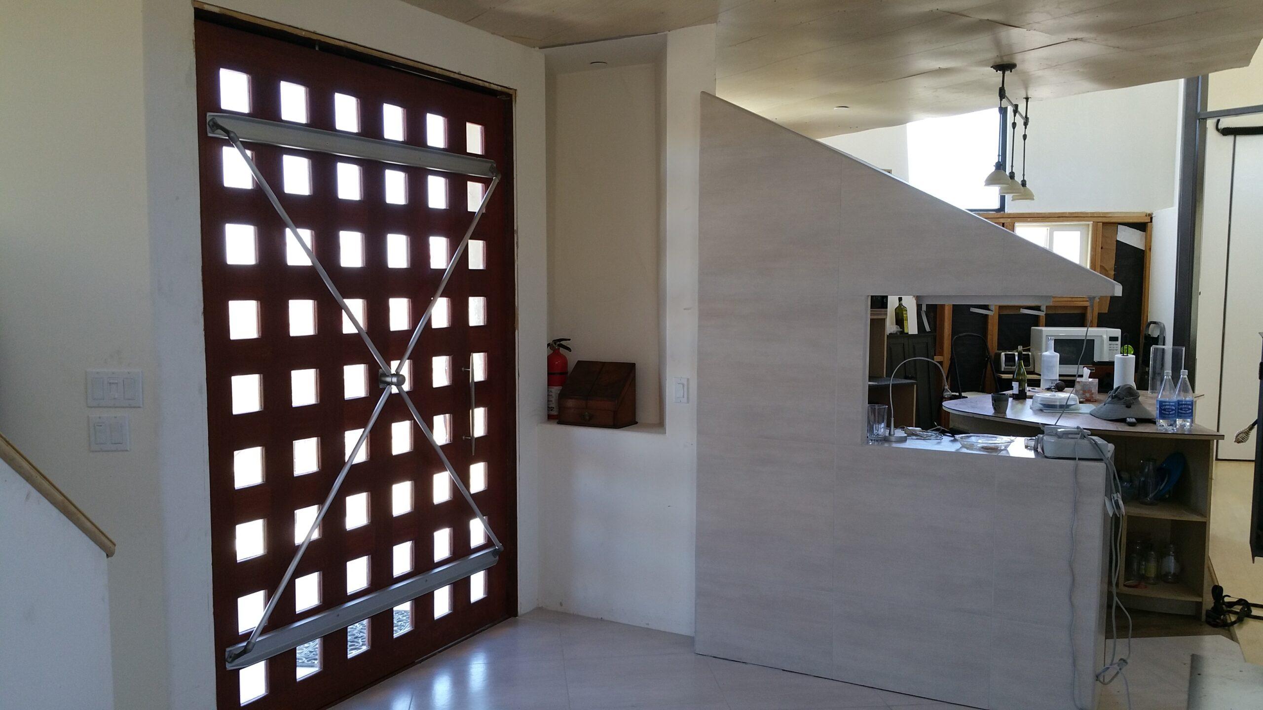Front entrance toward kitchen