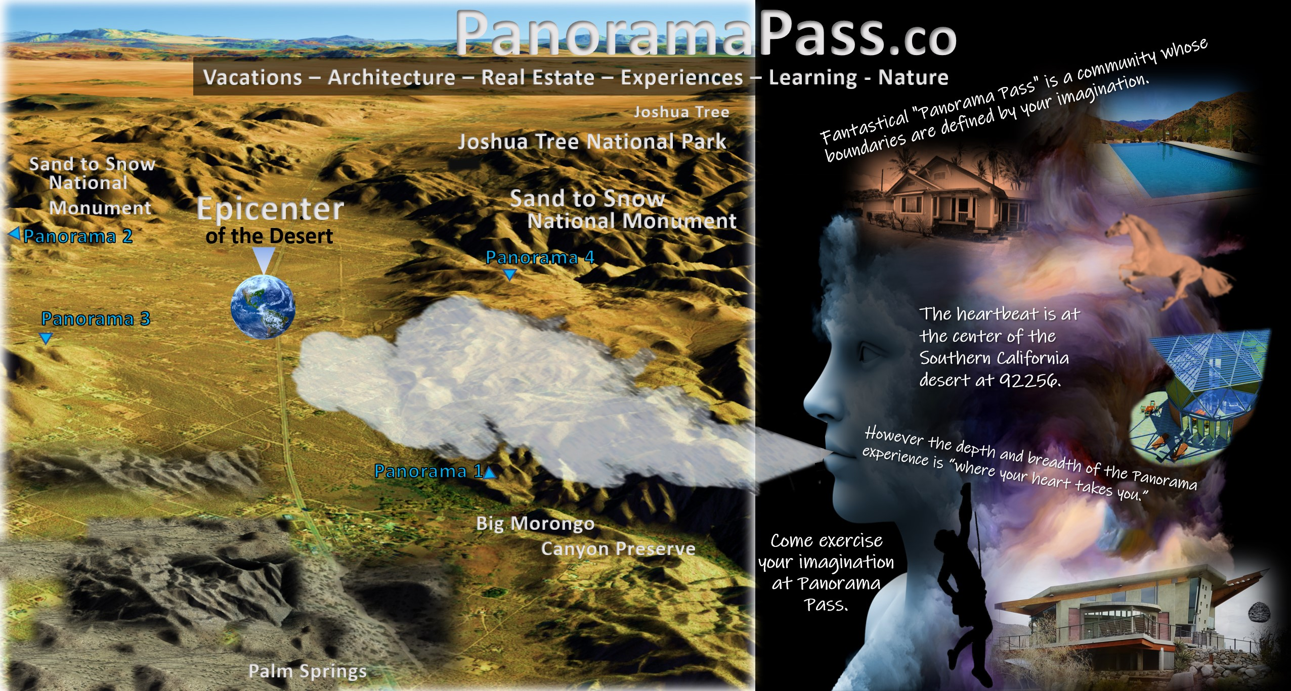 Head and Map - Cover photo